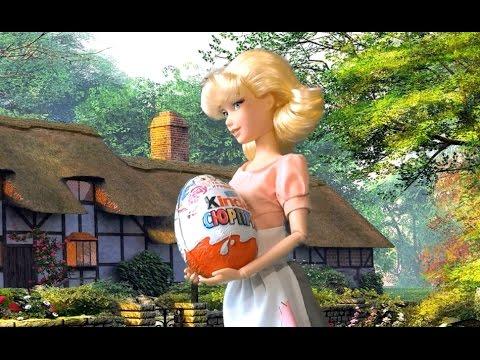 Золушка Мультфильм Куклы Disney Киндер Сюрприз Мой Маленький пони Мультик куклами для девочек