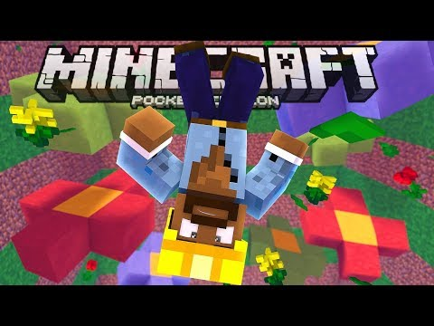 Dying WAY TOO Much Is My SPECIALTY!!! - Mega Dropper Map - Minecraft PE (Pocket W10 Edition)