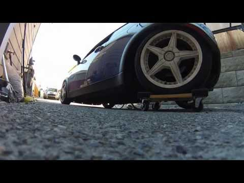 How to move a MINI with a broken rear trailing arm for $12 :-)