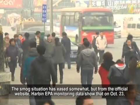 Severe Smog Appears throughout Northeast China