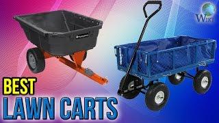 9 Best Lawn Carts 2017