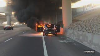 Safety advocates call for Kia, Hyundai to recall cars that burst into flames