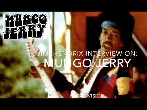 Mungo Jerry - Interview: Jimi Hendrix Talking About Mungo Jerry