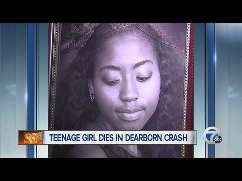 Teenage girl dies in Dearborn crash