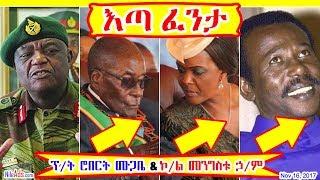[እጣ ፈንታ] ፕ/ንት ሮበርት ሙጋቤ ኮ/ል መንግስቱ ኃ/ም Robert Mugabe &  Mengistu Haile Mariam - DW
