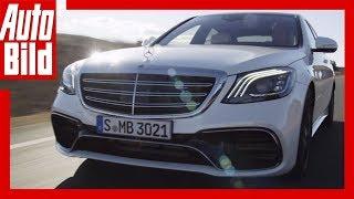 Verkaufsstart Mercedes S-Klasse Facelift ab Juli 2017 - Mercedes-AMG S 63 4Matic+ (2017)