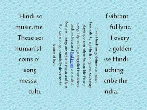 Effect of Online Hindi Songs