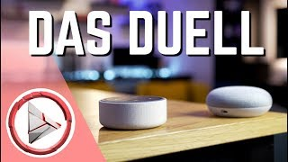 Google Home Mini vs Amazon Echo Dot | OwnGalaxy