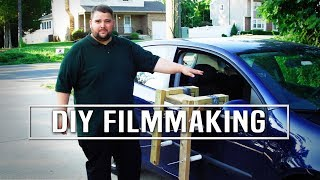How To Make A Simple Dolly Track, DIY Light Panels and Camera Car Mount by Mark L. Mazzeo