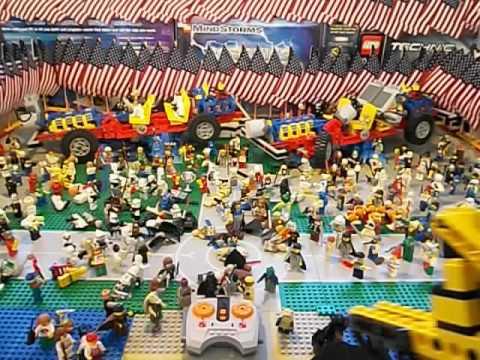 Lego Two Full Auto Guns Shoot