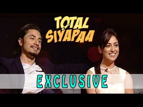 Total Siyapaa | Ali Zafar & Yami Gautam Exclusive Interview video