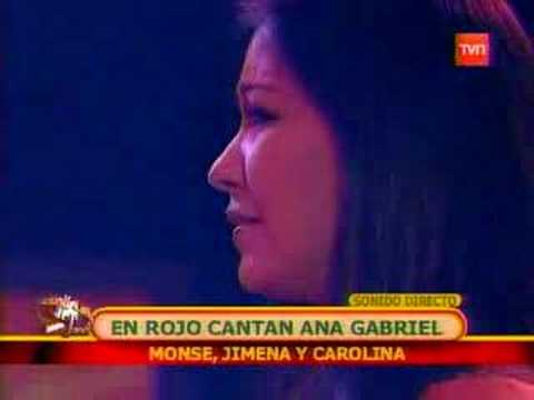 Cantantes del Clan Rojo con Ana Gabriel - Éxitos