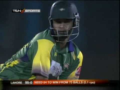 Imran Nazir 111 - 11 6s 7 4s - ICL part 2 3Final LHR vs HYD