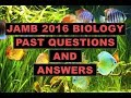 JAMB/UTME Biology 2016 Past Questions And Answers   Q11 20