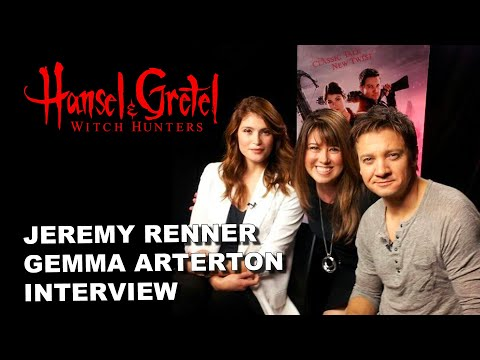 Exclusive Interview with Hansel and Gretel Stars Jeremy Renner and Gemma Arterton