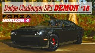 Forza Horizon 4 - Obtenir la Dodge Challenger SRT DEMON