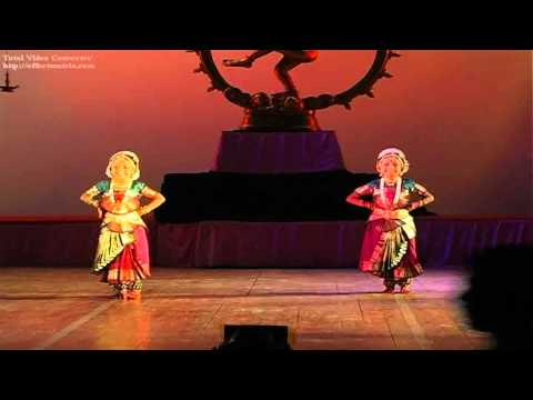 Youngest Dancers In The World To Perform Conventional arangetram In Bharatanatyam video