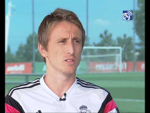 """Modric: """"I'm very happy and I want to return the confidence placed in me"""""""