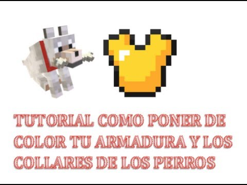 Minecraft Xbox360/PS3 TU14-Como poner de color tu armadura y los collares de los perros   Tutorial