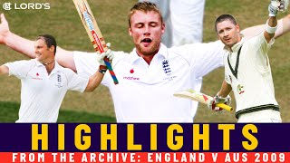 Flintoff's Final Test 5-fer and Strauss Magic! | Classic Match | England v Australia 2009 | Lord's