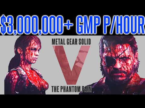 MGSV Phantom Pain - INFINITE MONEY FARM EXPLOIT TIP | $3 MILLION+ PER HOUR GMP | Metal Gear Solid V