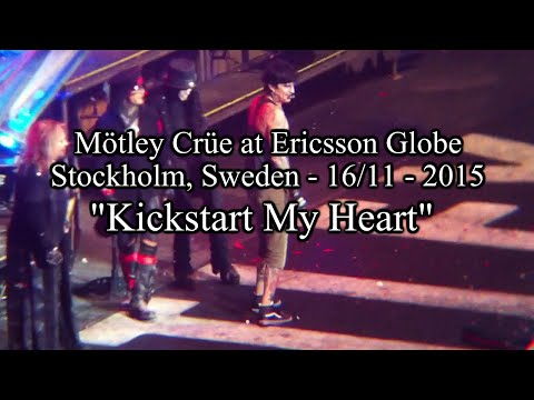 "Mötley Crüe at Ericsson Globe - 16/11/15 - ""Kickstart My Heart"""
