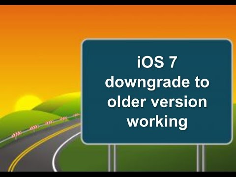 Downgrade iPhone 4 iOS 7.7.0.6 to iOS 6.1.2.....5.1.1