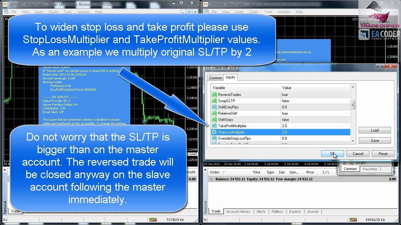 Forex trade copier ea 4