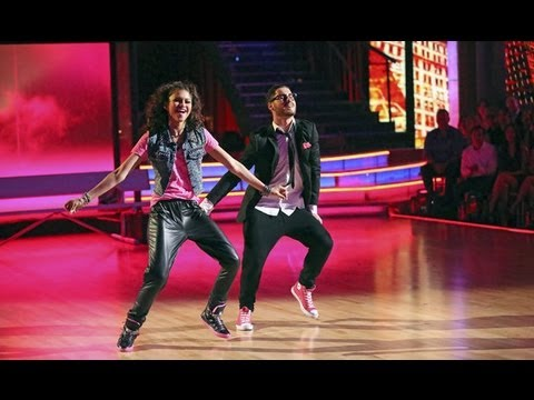 Zendaya Coleman & Val Chmerkovskiy - Hip Hop - Week 9