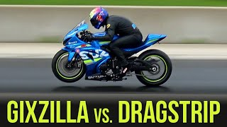 2017 GSX-R1000 S2B: Episode 10 (P1) – Gixzilla vs. Drag Strip