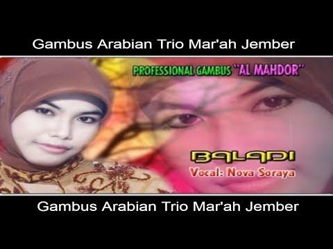 Baladi - Nova Soraya - Gambus Arabian Trio Mar'ah [Official Video]