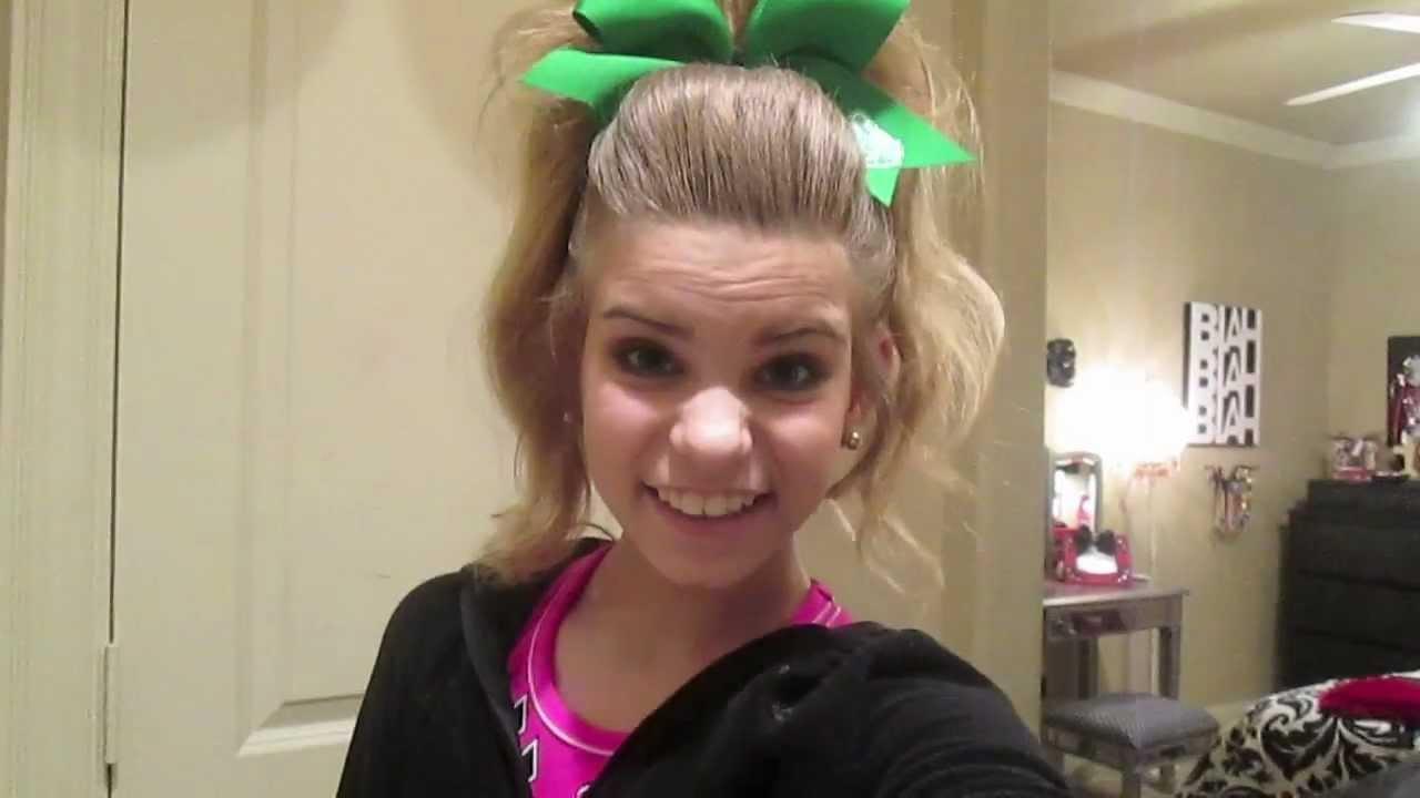 BIG Cheer Hair YouTube