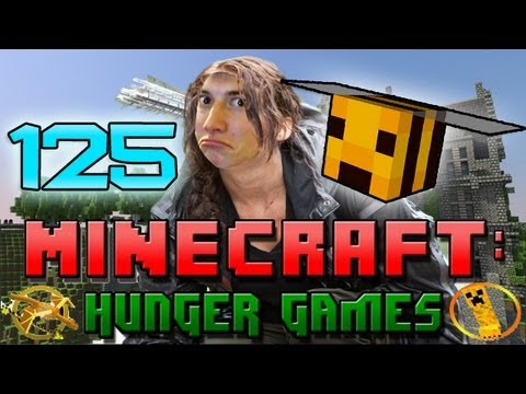 Minecraft: Hunger Games w/Mitch! Game 125 - Buzz Buzz