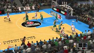 Game | NBA 2K14 gameplay ΟΣΦΠ Vs ΠΑΟ | NBA 2K14 gameplay ΟΣΦΠ Vs ΠΑΟ