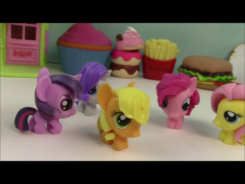 My Little Pony Fashem Mystery Surprise Blind Bag MLP Toy Opening REview Squishy Stretchy Pinkie Pie