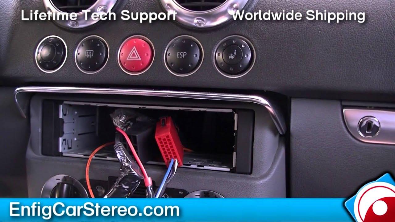 Radio installation Audi TT 1999 2006 YouTube