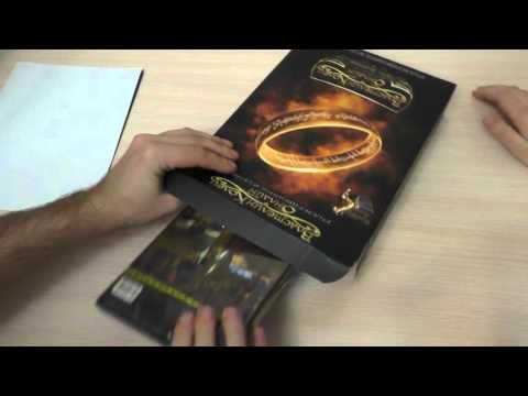 Коллекционное издание The Lord Of The Rings Online. Распаковка