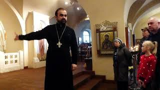 Санкт-Петербург, собор Феодоровской иконы Божией матери, фрагменты экскурсии 15 февраля 2020 года