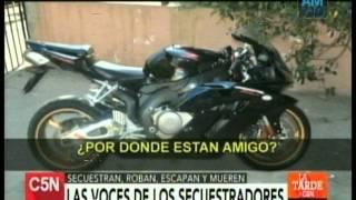 C5N - POLICIALES: LAS VOCES DE LOS SECUESTRADORES