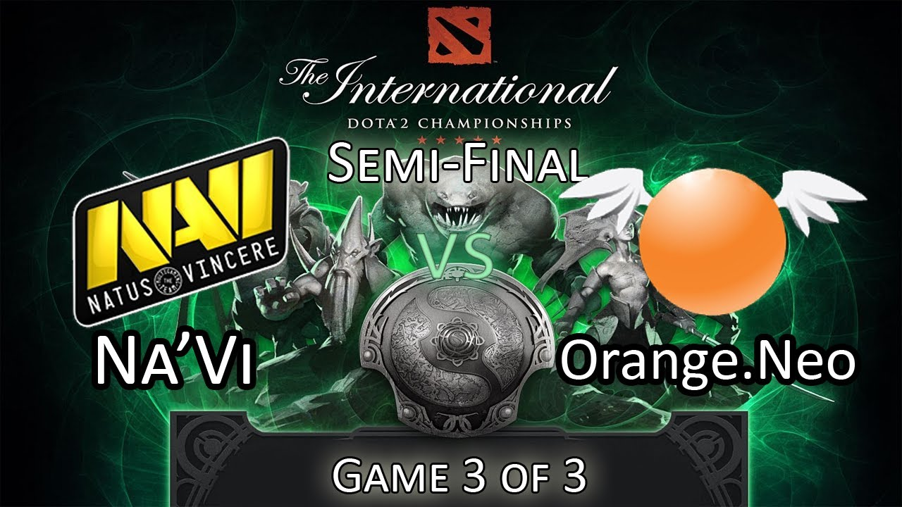 TI3 Semi Final NaVi Vs Orange Game 33 DoTA 2 The