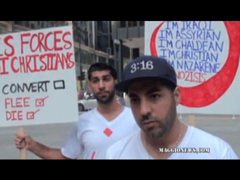 Mainstream Media ignores anti ISIS protest in Chicago