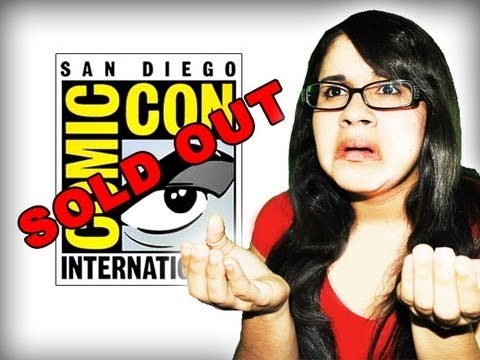 2013 San Diego Comic Con Badge Purchase - FAIL