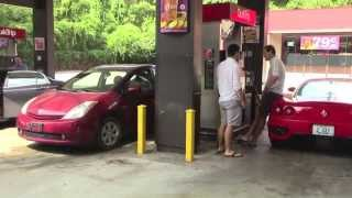 Getting Gas in a Ferrari 360 Modena