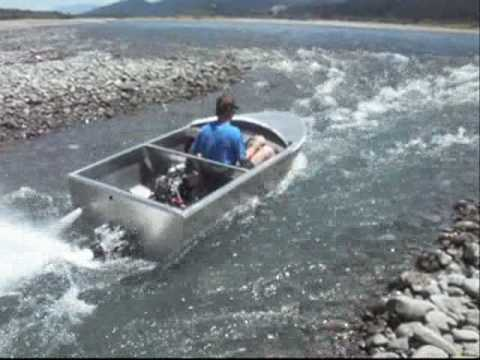 Jet Dinghy, Build and test, NZ - YouTube