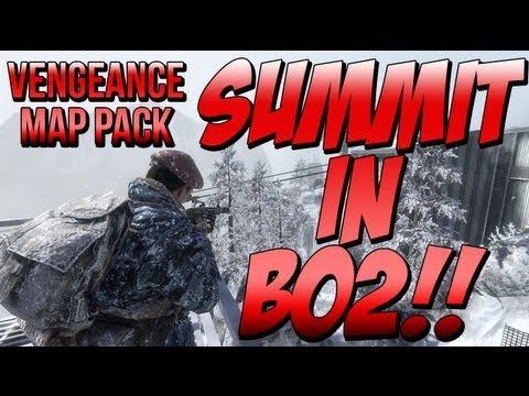 """SUMMIT"" In Black Ops 2 - ""VENGEANCE"" Trailer Impressions - Playable Zombie Character (BO2 DLC Maps)"