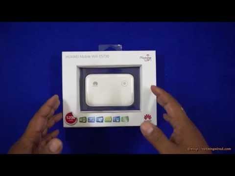 Huawei Mobi-fi E5730 Unboxing & Full Review video
