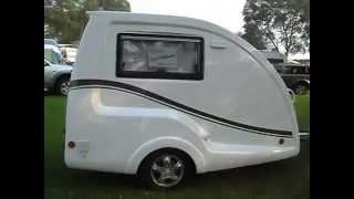 Go-Pods.co.uk  Micro Tourer Caravan - Small Caravan. Teardrop Caravan.