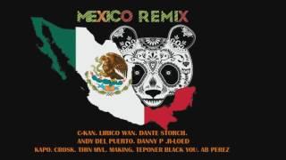 PANDA remix MEXICANO (C-KAN. LIRIkO WAN. DANTE STORCH. ANDY DEL PUERTO. DANNY P .R-LOED  ETC