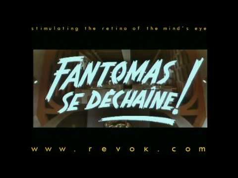 FANTOMAS SE DECHAINE (1965) French trailer for the sequel FANTOMAS STRIKE BACK streaming vf