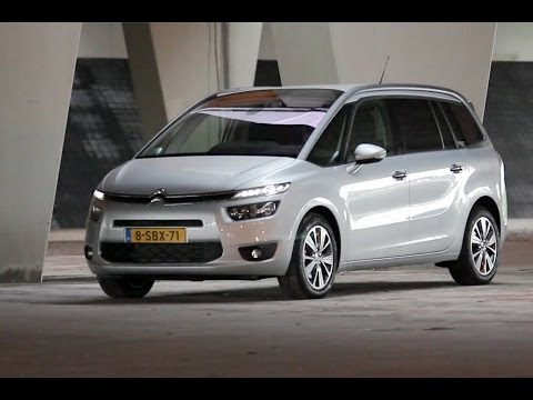 Citroën Grand C4 Picasso - review Autovisie TV